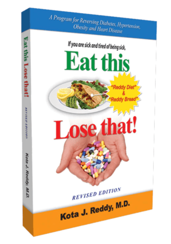 Eat This, Lose That Diet Book by Dr. Kota J Reddy