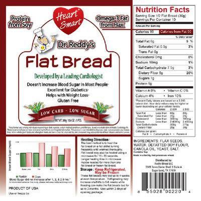 Dr. Reddy Heart Smart Flat Bread 5CT